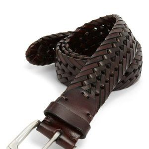John W. Nordstrom | Brown Woven Leather Belt